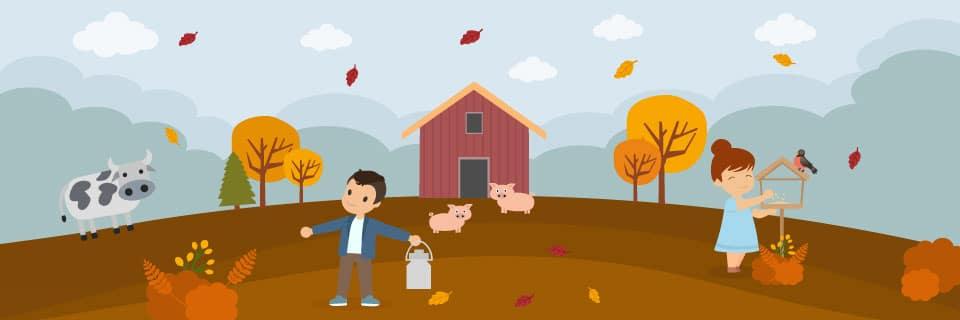 Herbstferien Umwelt